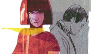 Illustration of a female spy by Dwayne Bell