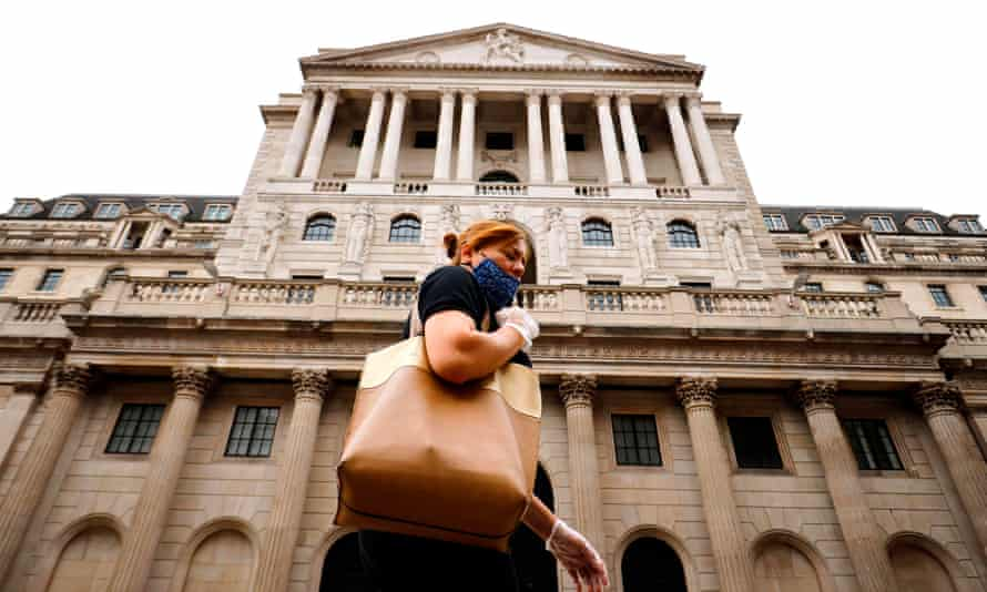 The IMF report urged the Bank of England to inject further funds into the economy.