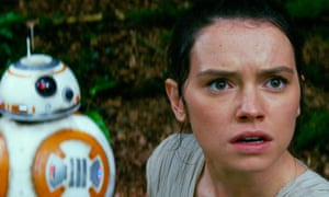 'What – I'm related to Chewbacca?' ... the true origins of Rey (Daisy Ridley) have reportedly been revealed.