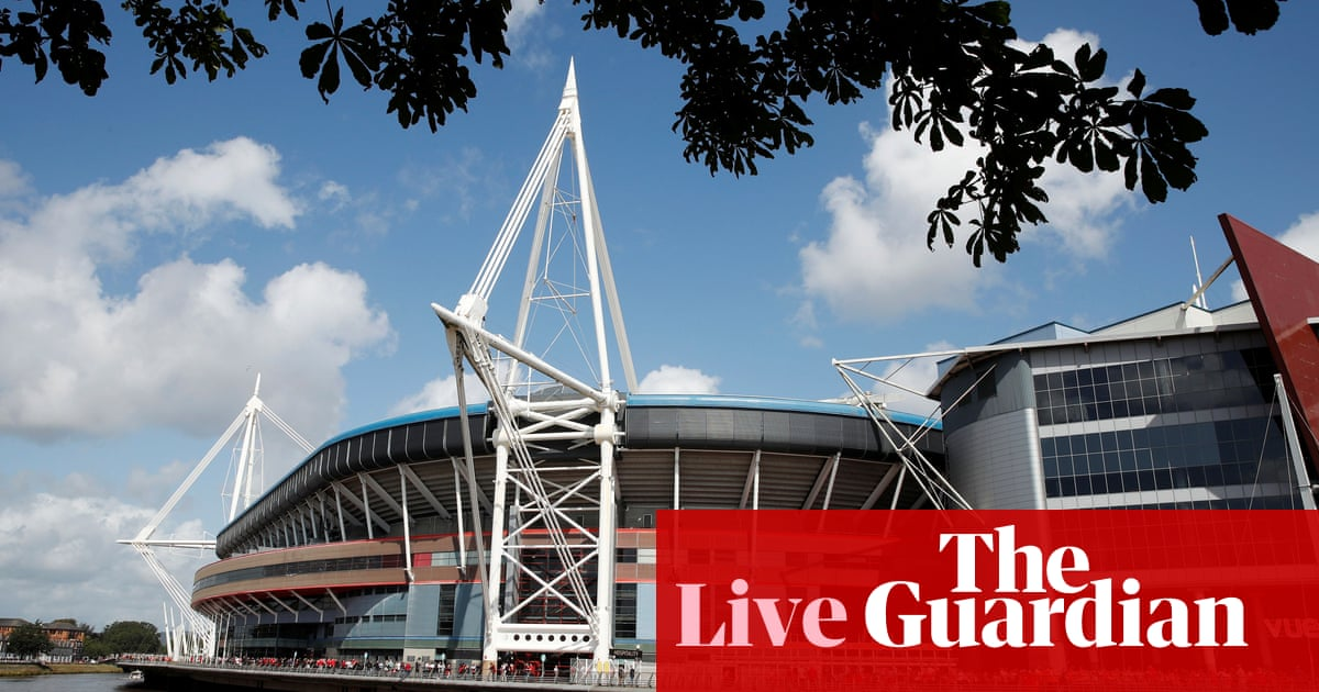 Wales v England: Rugby World Cup warmup – live!