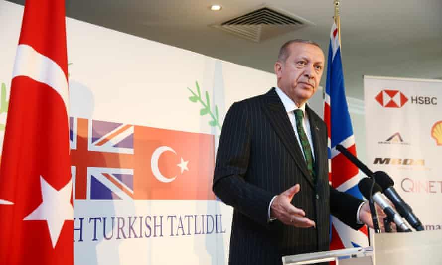 Recep Tayyip Erdoğan addresses the closing session of the Tatlıdil Forum