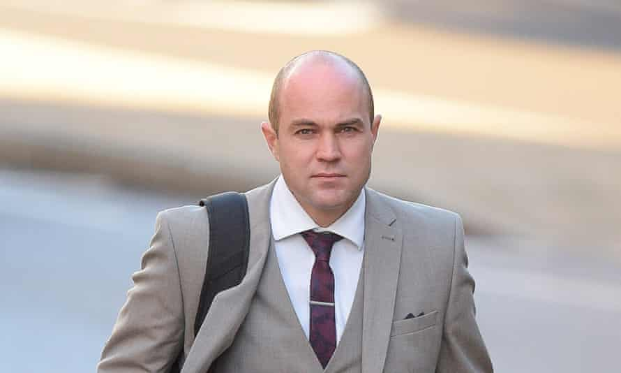 Emile Cilliers arrives at Winchester crown court