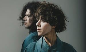 from left, Nate Brenner and Merrill Garbus of Tune-Yards.