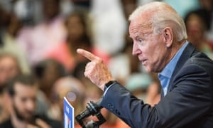 BESTPIX - Democratic Presidential Candidate Joe Biden Holds South Carolina Town Hall<br>*** BESTPIX *** ROCK HILL, SC - AUGUST 29: Democratic presidential candidate and former US Vice President Joe Biden addresses a crowd at a town hall event at Clinton College on August 29, 2019 in Rock Hill, South Carolina. Biden has spentWednesday and Thursday campaigning in the early primary state. (Photo by Sean Rayford/Getty Images)