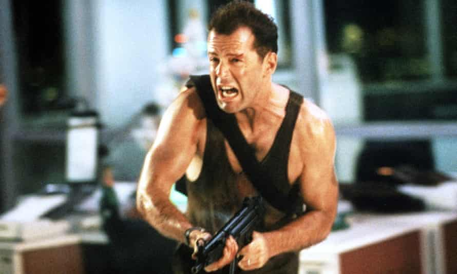 'It's a good film, not a Christmas film': Bruce Willis in Die Hard.