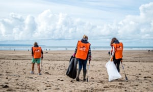 Marine Conservation Society's Great British Beach Clean