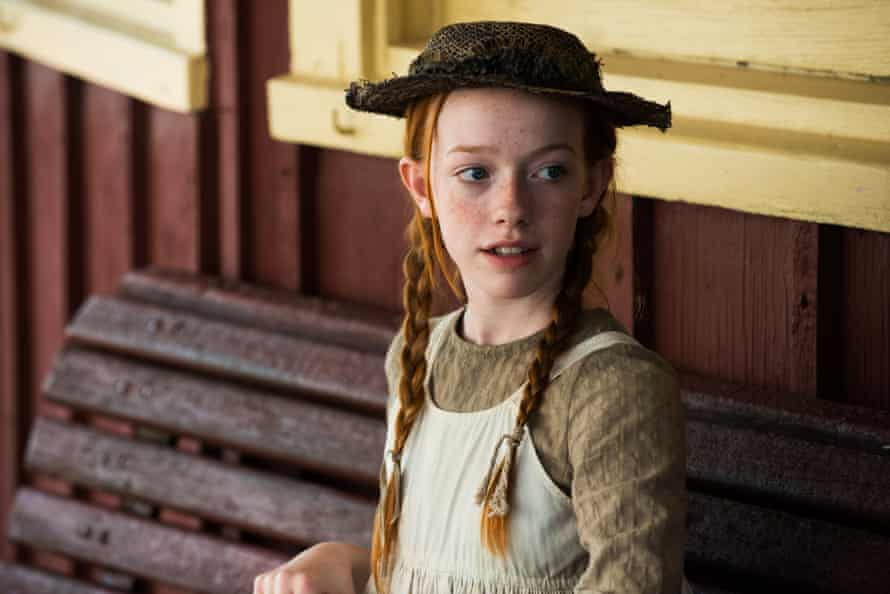Amybeth McNulty as Anne Shirley in Anne with an E.