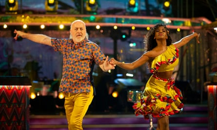 Bill Bailey Oti Mabuse
