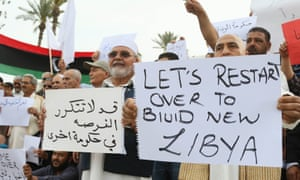 Western nations view the new unity government as the best hope for ending Libya's chaos.