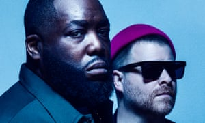 'Dazzlingly intricate verses': Run the Jewels' Killer Mike, left, and El-P
