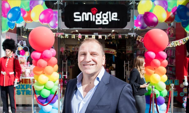 Stationery chain Smiggle: 'In some stores kids come in with a £50