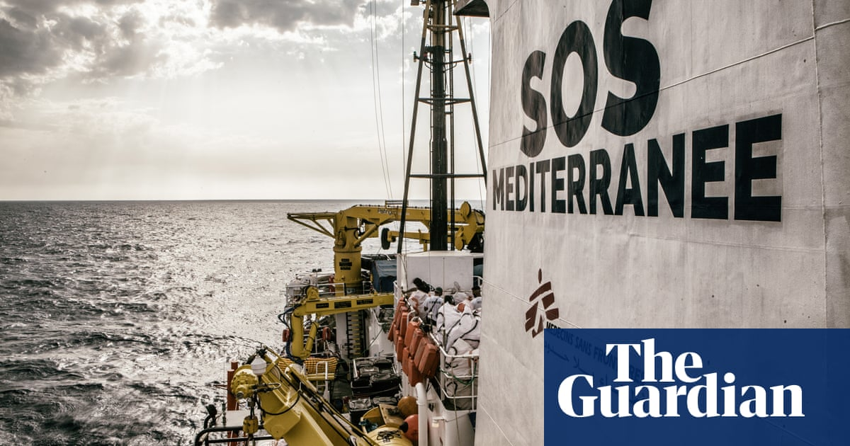 Aquarius: onboard the migrant rescue ship – photographic diary