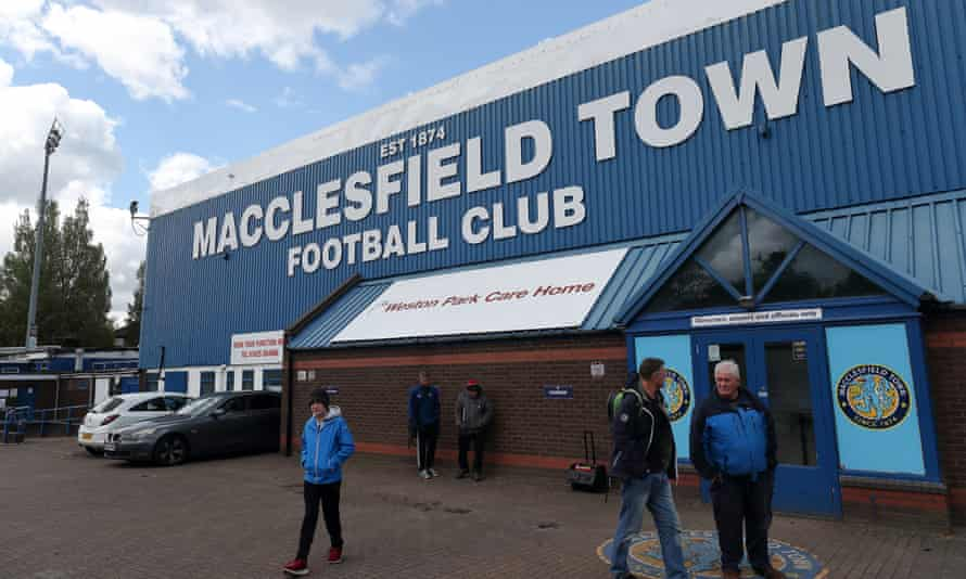 Macclesfield Town are now just three points above last-placed Morecambe.