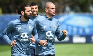 Sergio Oliveira and Pepe