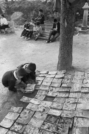 Jangchungdan Park, Seoul, Korea, 1960.