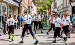 Traditional Morris Dancers, Lewes, Sussex, UK. 'These dancers would die, and their sons – or maybe daughters – would learn the dance, and the rites of spring would continue unchanged'