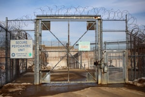 The entrance to the Secure Psychiatric Unit at the New Hampshire State Prison for Men.