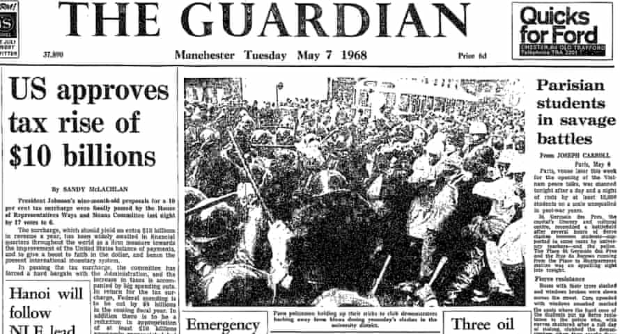 The Guardian, 7 May 1968.