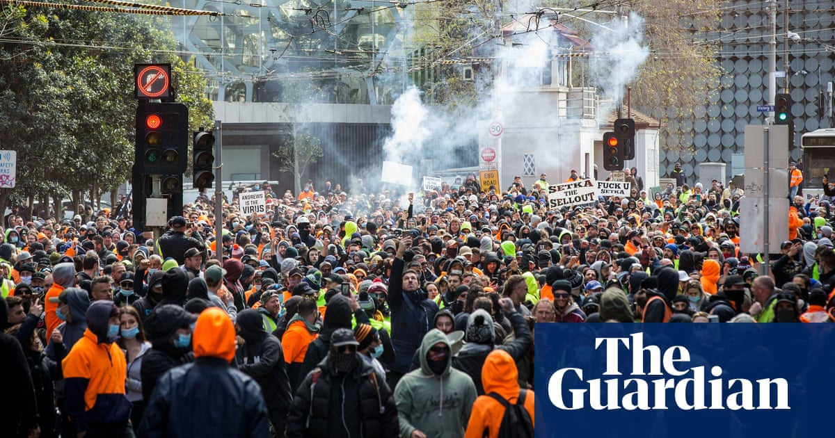 CFMEU members could be expelled from union over Melbourne vaccine mandate protests