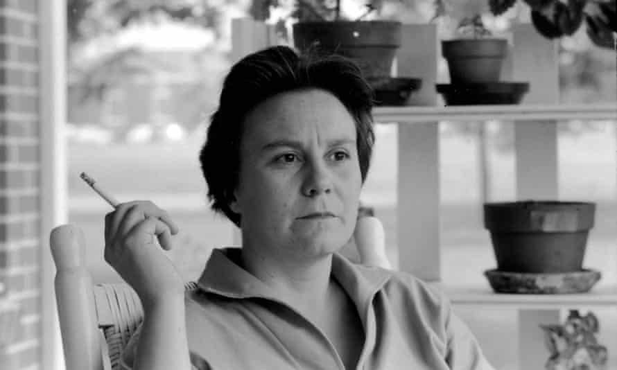 Harper Lee on the porch of her family home, in Monroeville, Alabama, 1961, the year she won the Pulitzer prize.