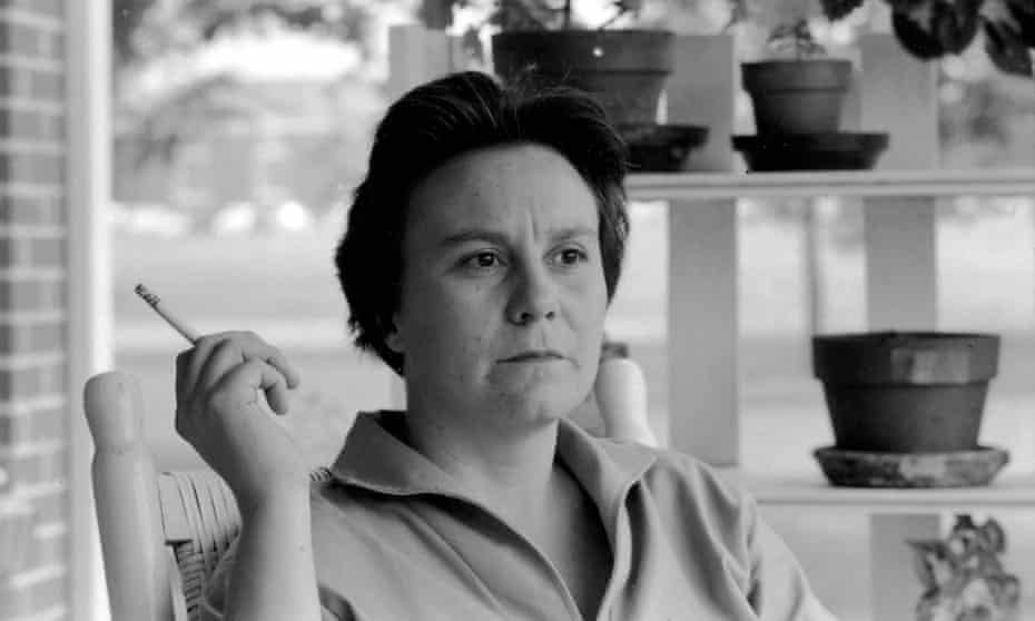 Harper Lee, pictured on the porch of her parents home in Alabama, in 1961 – a month after winning the Pulitzer for To Kill a Mockingbird.