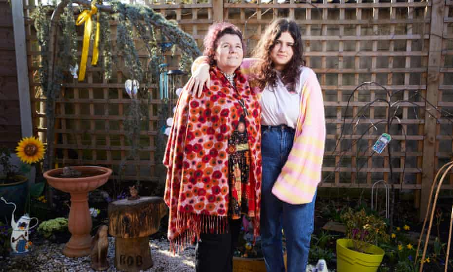 'Bob should not be dead. The government let him down …' Amanda and Jazzy at home in Timperley, Greater Manchester.