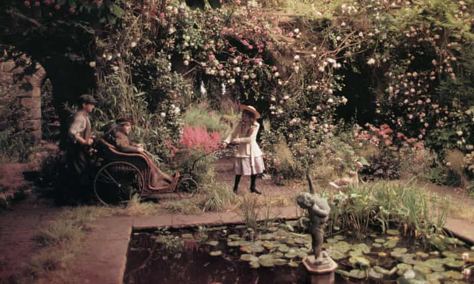 a still from the 1993 film of The Secret Garden.