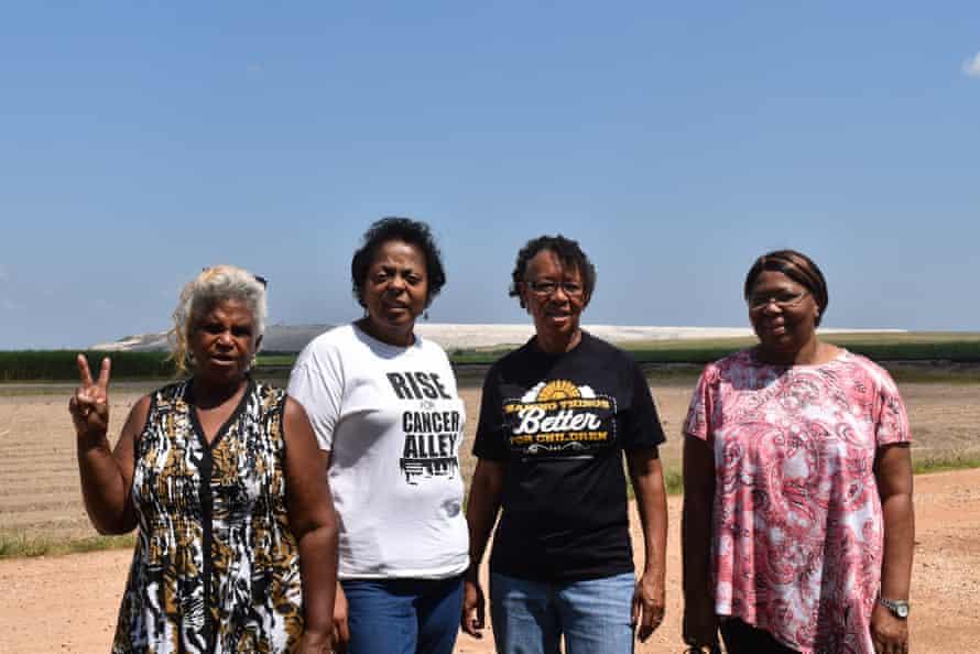 Gail LeBoeuf, Sharon Lavigne, Barbara Washington and Myrtle Felton.