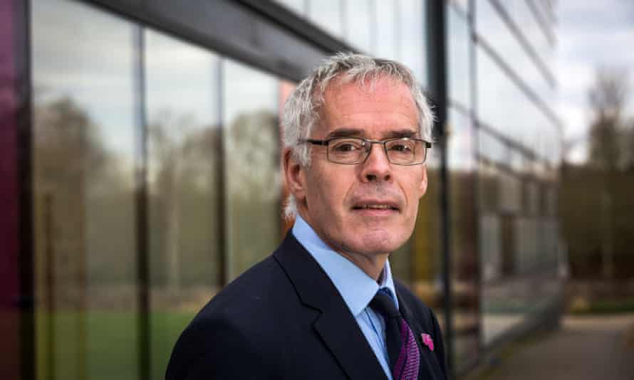The Open University's embattled vice-chancellor, Peter Horrocks
