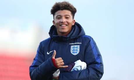 Jadon Sancho joins Borussia Dortmund from Manchester City for £8m