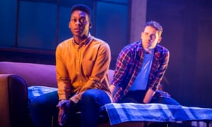 How to tell the parents ... Tyrone Huntley, left, and Billy Cullum in Leave to Remain.