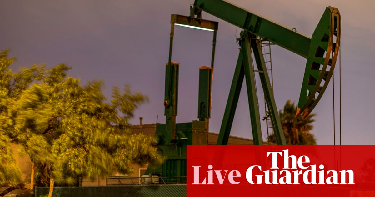 Oil and gas surge fuels inflation fears, as German factory orders tumble – business live
