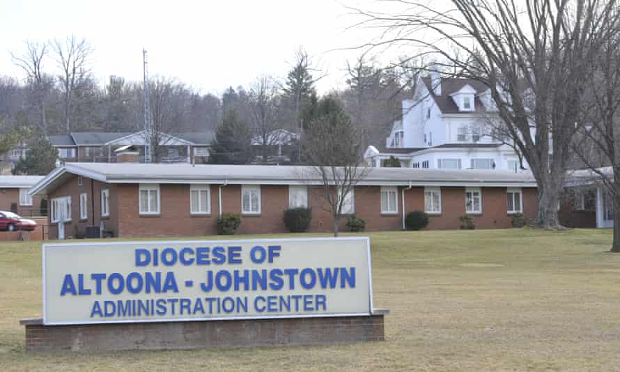 The Altoona-Johnstown diocese adminstration building in Altoona, Pennsylvania.