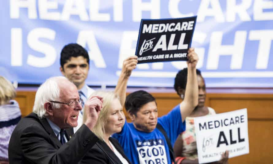 Bernie Sanders replied to Trump: 'What is a curse is your support for throwing 23 million off health insurance.'