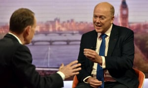 Chris Grayling on BBC's Andrew Marr show