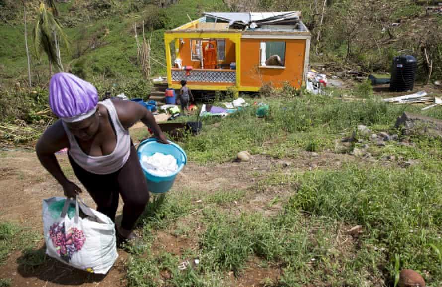 Hurricane Maria, Dominica, 2017