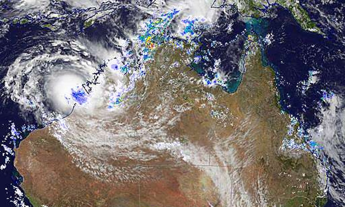 Tropical Cyclone Blake Western Australia S First Cyclone Of The Summer To Batter Kimberley Region Western Australia The Guardian