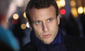Emmanuel Macron Head Of The Political Movement En Marche Or Onwards