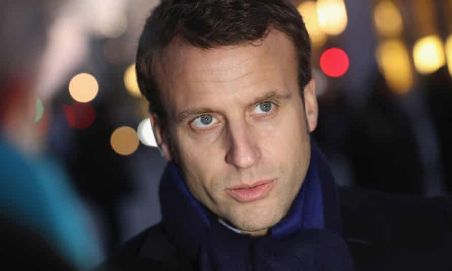 Emmanuel Macron, head of the political movement En Marche!, or Onwards!, and candidate for the 2017 French presidential elections.