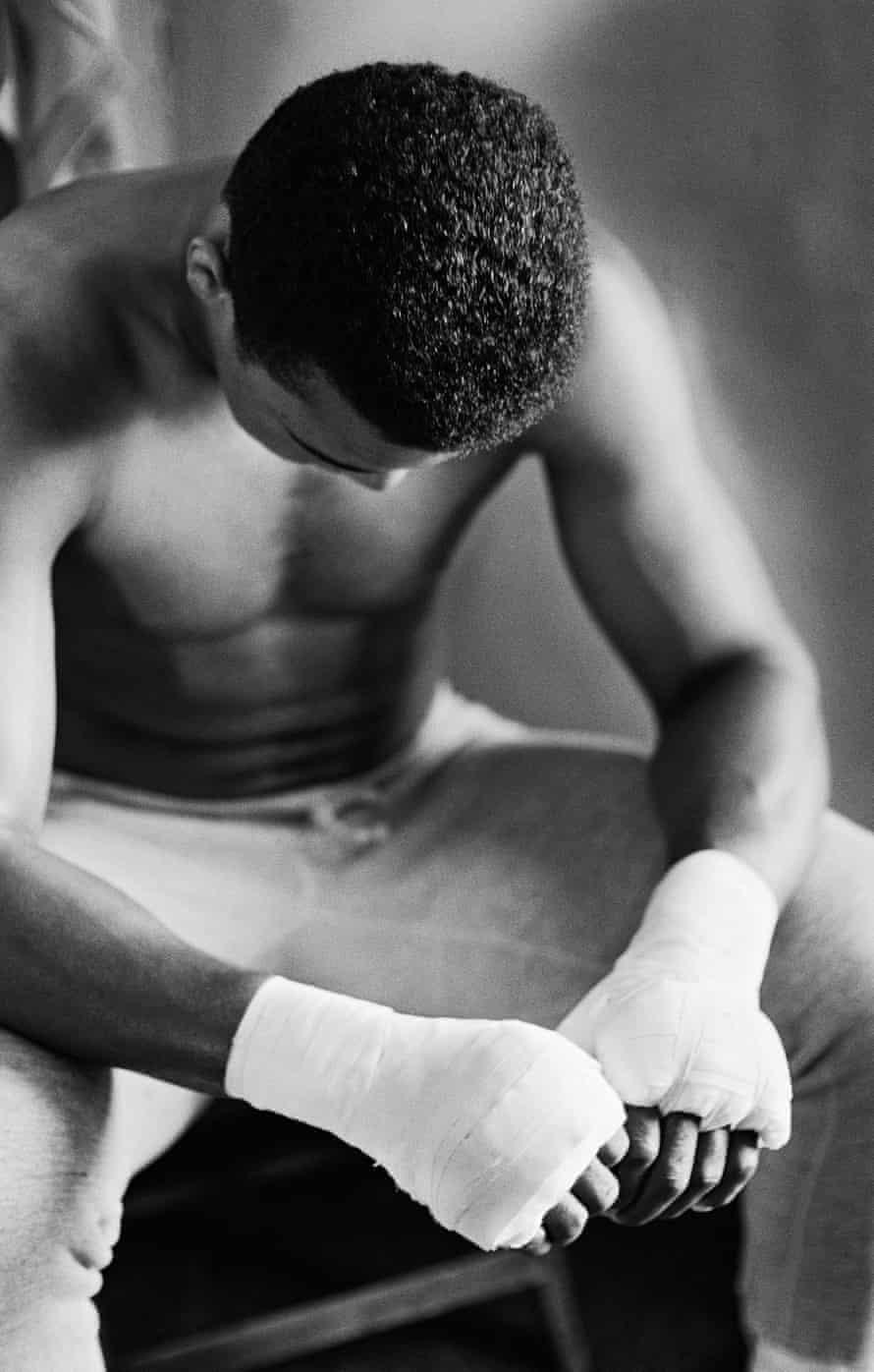 Muhammad Ali in training, Miami Beach, Florida, 1966, by Gordon Parks.
