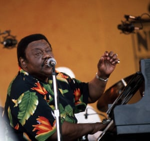 Again at the New Orleans jazz and heritage festival, this time in 2001