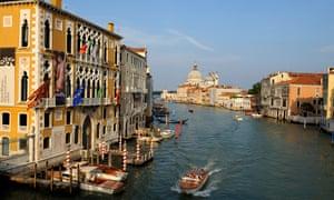 Palazzo Cavalli Franchetti on the Grand Canal, Venice, Italy