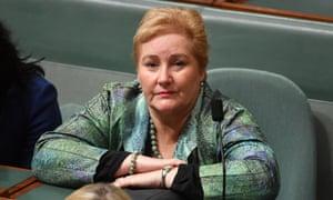 Liberal MP Ann Sudmalis in the House Of Representatives.