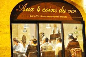 Aux Quatre Coins du Vin, Bordeaux
