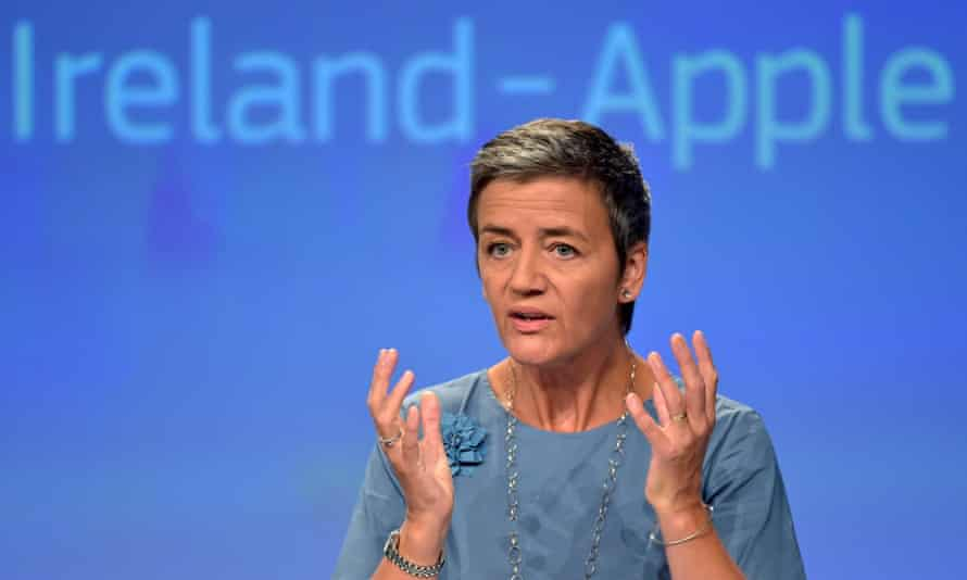 'Margrethe Vestager can act tough because her job is to ensure that there is fair competition in the European market.'