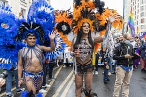 Paris, France. For the first time since its existence in the city, the Pride march started in one of the outer suburbs, Pantin in Seine-Saint-Denis