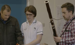 The Strokestra project between the Royal Philharmonic Orchestra and Hull stroke service running a music-making service for patients.