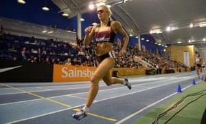 British athlete Jenny Meadows