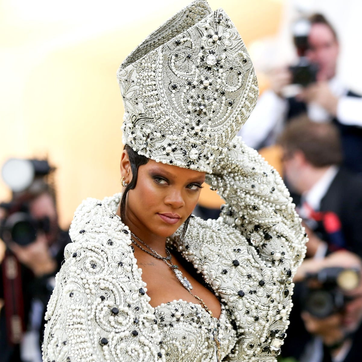 Rihanna Set To Become Lvmh S First Black Female Designer Reports Music The Guardian