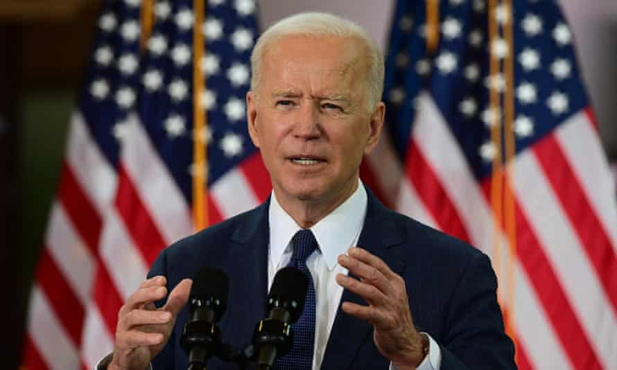 Joe Biden in Pittsburgh, Pennsylvania, on 31 March. Turkey's status as a Nato member and longtime regional ally has prevented US presidents from making a formal designation.